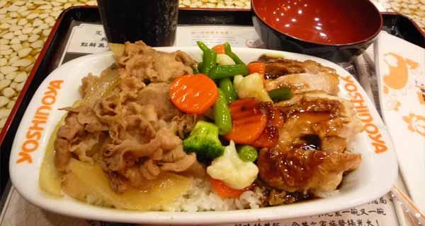 吉野家中式餐厅